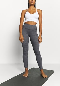 Under Armour - MERIDIAN HEATHER LEGGING - Tights - black