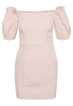 Miss Selfridge Petite - BARDOT STRUCTURED DRESS - Freizeitkleid - blush