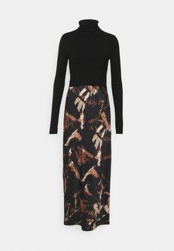 AllSaints - SIGOURNEY TYDY DRESS 2 in 1 - Vapaa-ajan mekko - black