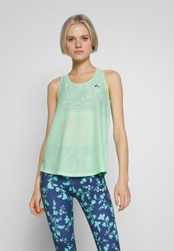 ONLY Play - LOOSE TRAINING TANK - Funktionsshirt - green ash