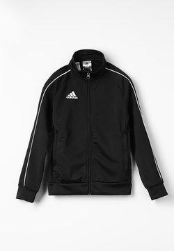 adidas Performance - CORE 18 FOOTBALL TRACKSUIT JACKET - Trainingsjacke - black/white