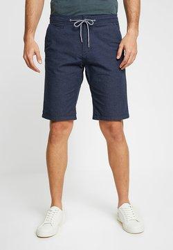 TOM TAILOR DENIM - YARN DYED - Shorts - blue dot dobby