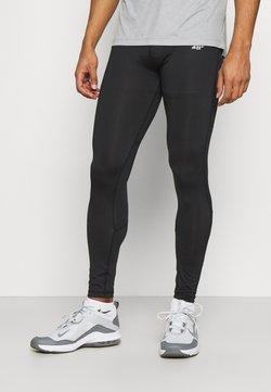 4F - Men's training leggings - Trikoot - black