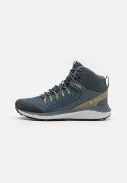 Columbia - TRAILSTORM MID WATERPROOF - Hiking shoes - graphite/creek