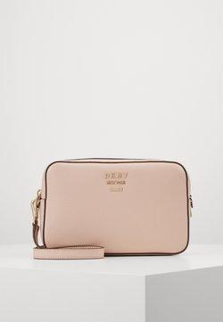 DKNY - WHITNEY CAMERA BAG - Torba na ramię - light pink