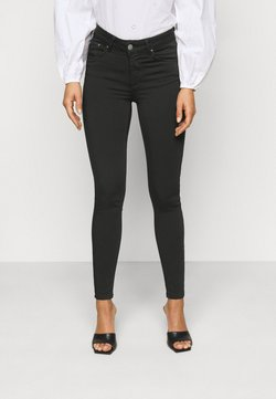 Vero Moda Petite - VMLUX SUPER - Slim fit -farkut - black