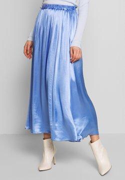 Weekday - READ SKIRT - Spódnica trapezowa - blue