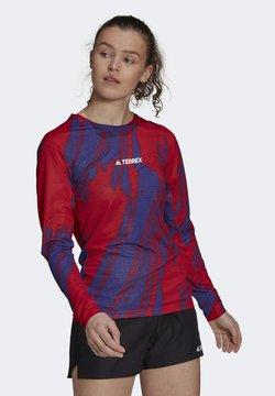 adidas Performance - Camiseta de manga larga - red
