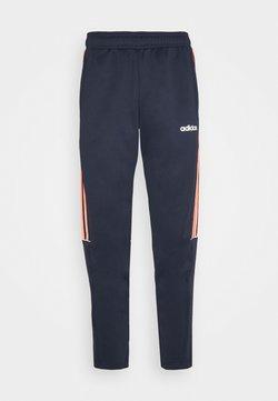 adidas Performance - SERENO AEROREADY TRAINING SPORTS SLIM PANTS - Jogginghose - legink/apsior