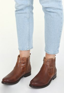 Apple of Eden - DOUGIE - Ankle Boot - cognac