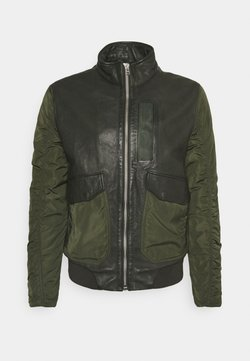 Goosecraft - CHAIN BOMBER - Giubbotto Bomber - leaf green