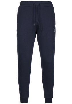 Converse - MENS EMBROIDERED STAR CHEVRON PANT - Jogginghose - obsidian