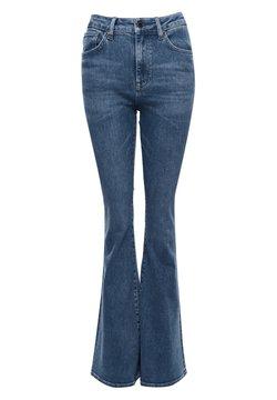 Superdry - Jeans a zampa - mid indigo