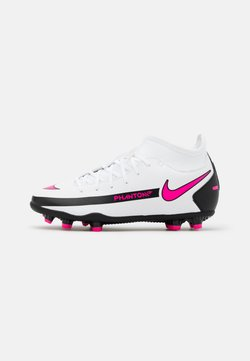 Nike Performance - JR PHANTOM GT CLUB DF MG UNISEX - Fußballschuh Nocken - white/pink blast/black
