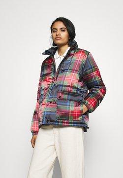 Obey Clothing - IRVING PUFFY COAT - Winterjacke - black/multi