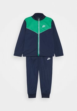 Nike Sportswear - 2 TONE ZIPPER TRICOT SET - Survêtement - midnight navy
