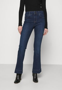 River Island - Flared Jeans - dark auth