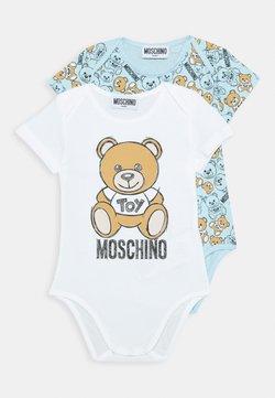 MOSCHINO - BODYSUIT GIFT 2 PACK - Body - baby sky