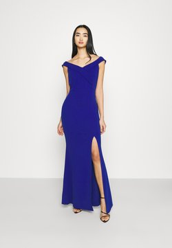 WAL G. - ARIAH OFF THE SHOULDER MAXI DRESS - Occasion wear - electric blue