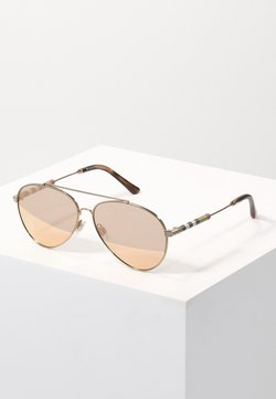 Burberry - Sonnenbrille - gold/brown mirror rose gold