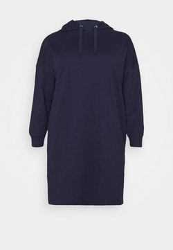 Even&Odd Curvy - Vestido informal - dark blue