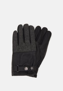 Pier One - Fingervantar - black/grey