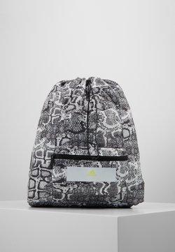 adidas by Stella McCartney - GYMSACK - Reppu - black/white/yellow