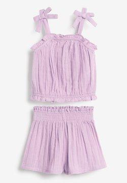 Next - SET - Shorts - lilac
