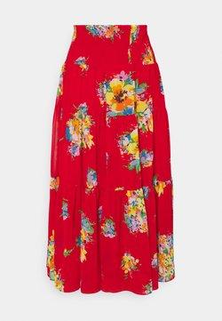 Lauren Ralph Lauren - VINNEA - A-Linien-Rock - bright hibiscus multi
