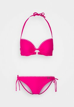 Buffalo - PUSH UP SET - Bikini - pink