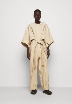 3.1 Phillip Lim - SMOCKED WAISTBAND - Jumpsuit - beige