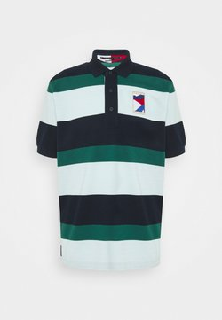 Tommy Hilfiger - CASUAL  - Polo - desert sky/oxygen/rural green