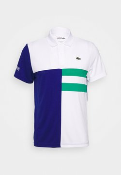 Lacoste Sport - TENNIS - Funktionsshirt - white/cosmic/greenfinch/white