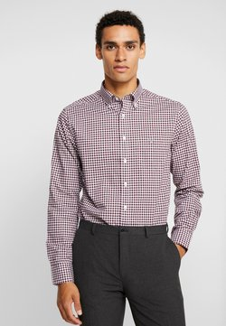 GANT - THE BROADCLOTH GINGHAM - Camisa - port red