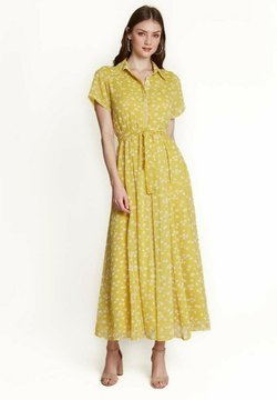 NIZA - Vestido largo - amarillo