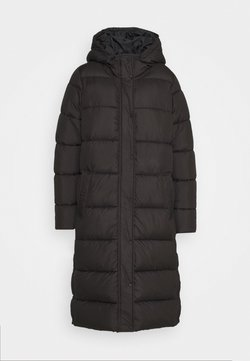 ONLY - ONLNEWCAMMIE LONG QUILTED COAT - Talvitakki - black