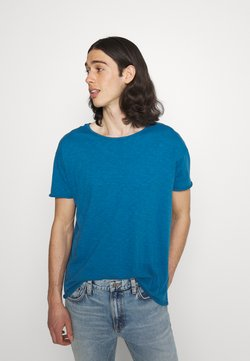 Nudie Jeans - ROGER - T-shirt basic - sky blue
