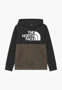 The North Face - SURGENT BLOCK HOODIE - Kapuzenpullover - new taupe green