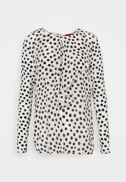 MAX&Co. - CHIOMA - Maglietta a manica lunga - white