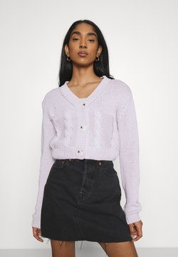 Cotton On - TWO BECOME ONE CARDI CAMI SET - Gilet - lilac blossom