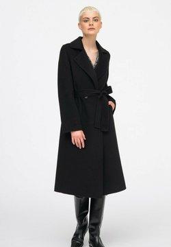 Hexeline - Klasyczny płaszcz - czarny