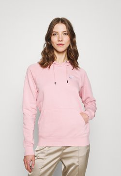 Nike Sportswear - HOODIE - Sweatshirt - pink glaze/white