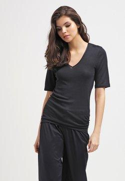Hanro - WOOLEN SILK  - Undershirt - black