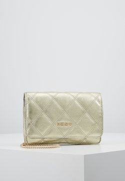 DKNY - SOFIA ON STRING CRINKLE - Torba na ramię - pale gold