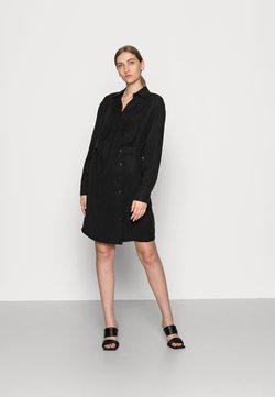 Lounge Nine - BOP DRESS - Skjortklänning - pitch black