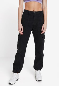 BDG Urban Outfitters - AUTHENTIC CARGO PANT - Cargohose - black