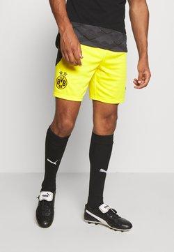 Puma - BVB BORUSSIA DORTMUND REPLICA - kurze Sporthose - cyber yellow