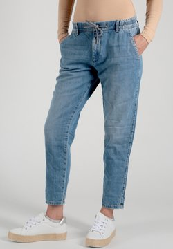 Miracle of Denim - INES BOYFRIEND - Jeans Relaxed Fit - blau