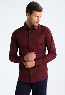 Casual Friday - Hemd - merlot red