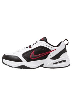 Nike Sportswear - AIR MONARCH IV - Sneaker low - white/black/varsity red